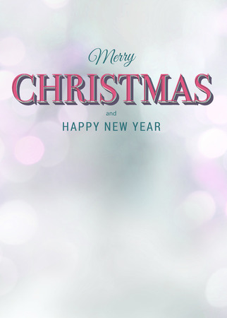 Advent or christmas card, poster or flyer background with empty space photo