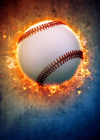 baseball sport: Abstract baseball sport invitation poster or flyer background with empty space