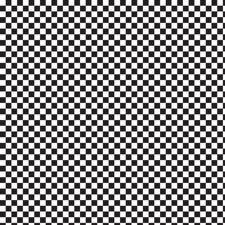 checkerboard: Black and White background square checkerboard seamless pattern abstract Illustration
