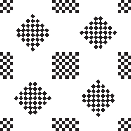chessboard: chessboard black and white pattern abstract white background Illustration