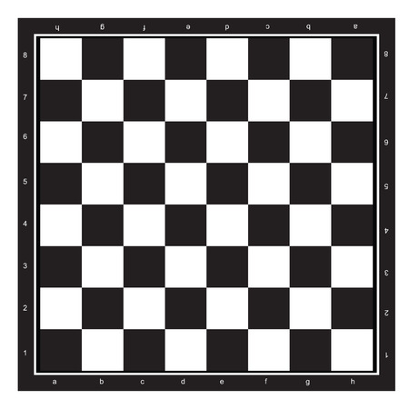 chessboard: Chessboard black and white abstract pattern isolated white background