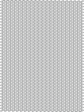 Background graphic - zigzag - thin corner - black on a white - vector.