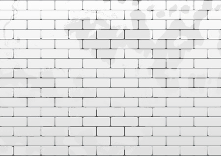 cracked wall: Vector seamless brick texture. Can be used as flyer, cover, business cards, envelope, and brochure background. Illustration
