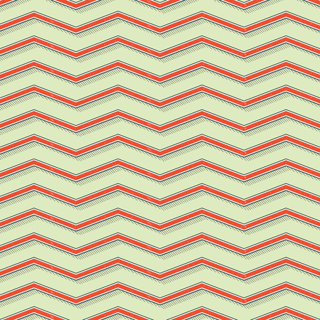 Retro zigzag pattern, abstract geometric background in 80s, 90s style. Geometrical simple illustration