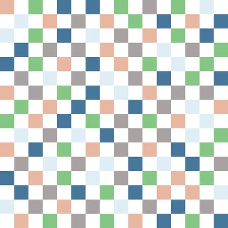 Square pattern. Geometric simple background. Creative and elegant style illustration Çizim
