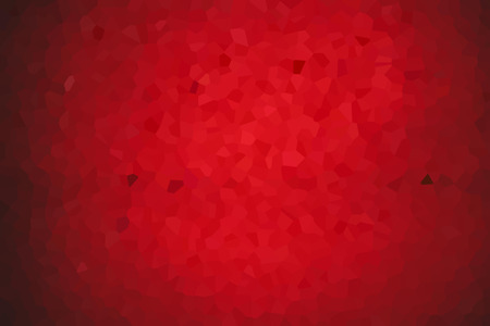 Red gradient polygonal background. Creative and luxury style illustration