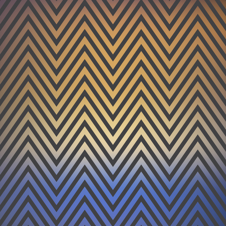 Gradient zig zag pattern, abstract geometric background. Luxury and elegant stylei llustration