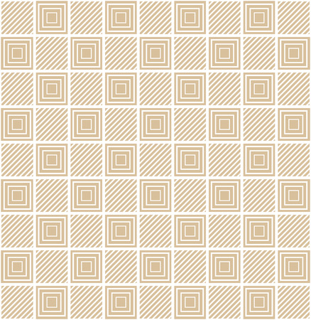 Square pattern. Geometric abstract background. Creative and elegant style illustration Illustration