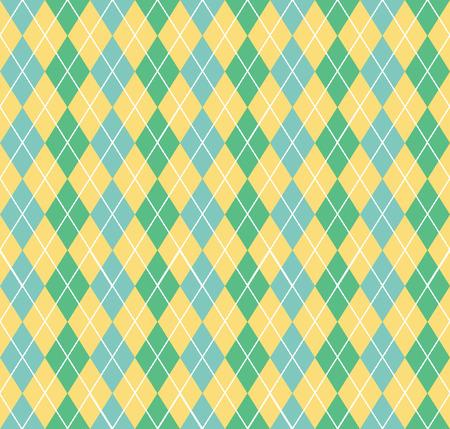 Argyle-Muster. Geometrischer einfacher Hintergrund. Kreative und elegante Stilillustration