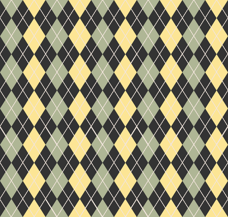 Argyle pattern. Geometric simple background. Creative and elegant style illustration