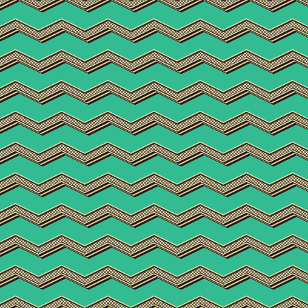Retro zigzag pattern. Abstract geometric background in 80s, 90s style image. Geometrical simple illustration