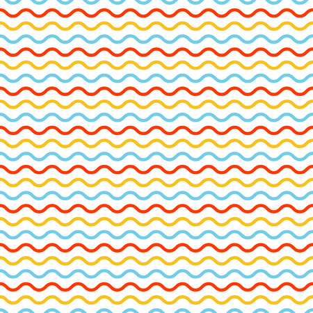Waves pattern, geometric simple background. Elegant and luxury style illustration Ilustração