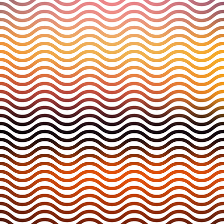 Gradient waves pattern. Abstract geometric background. Disco and elegant style illustration