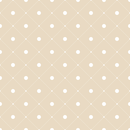 Elegant and luxury geometric dots pattern. Geometrical simple grid illustration Иллюстрация