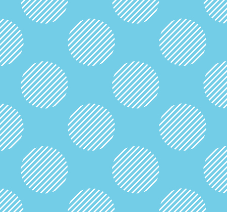 Dots pattern with stripe inside, geometric simple background. Elegant and luxury style illustration