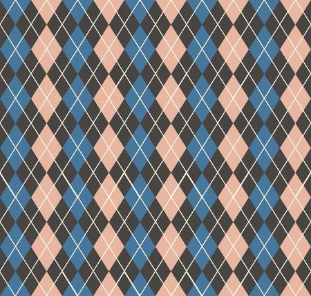 Argyle pattern, geometric simple background. Elegant and luxury style illustration