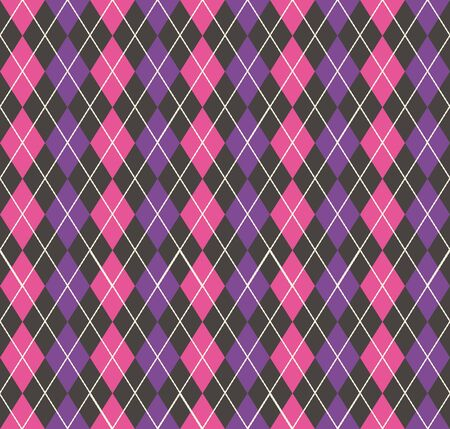 Argyle pattern, geometric simple background. Elegant and luxury style illustration