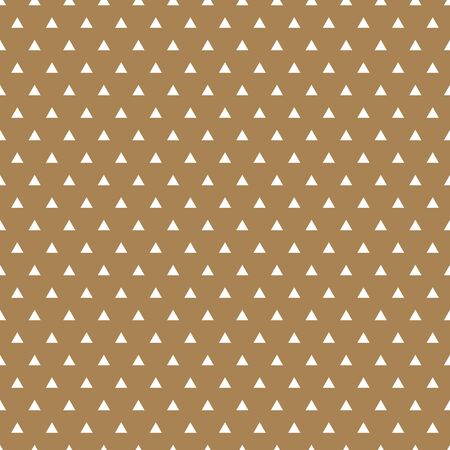 Triangle dotted pattern, geometric simple background. Elegant and luxury style illustration Stock Illustratie