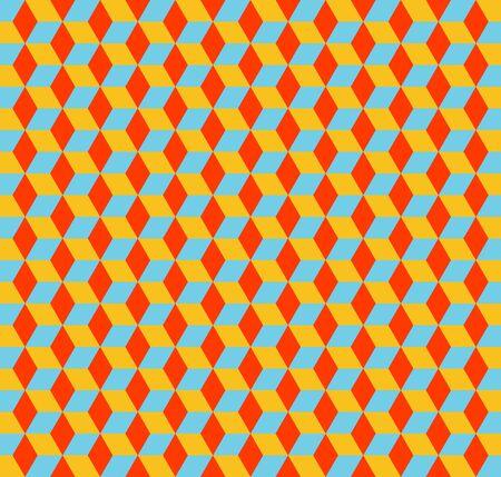 Cubes pattern 3D, geometric simple background. Elegant and luxury style illustration Stockfoto - 129421847
