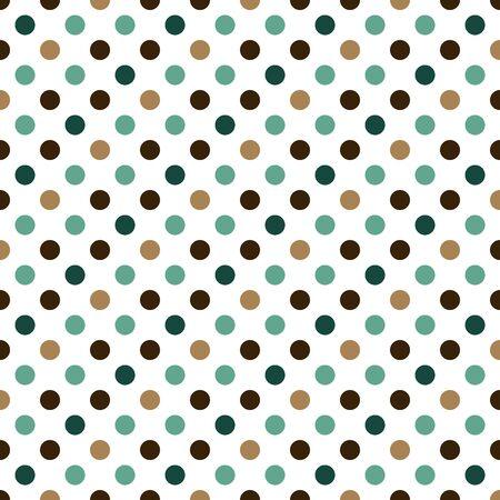 Dots pattern, geometric simple background. Elegant and luxury style illustration Ilustração