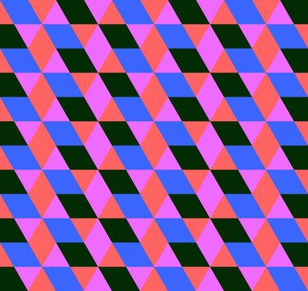 Triangle pattern, geometric simple background. Elegant and luxury style illustration