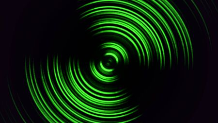 Abstract motion spiral with noise in 80s style, retro background. Elegant and luxury dynamic game 3D illustration style 写真素材 - 129421809