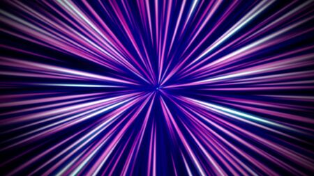 Abstract motion lines with noise in 80s style, retro background. Elegant and luxury dynamic game 3D illustration style 写真素材 - 129421541