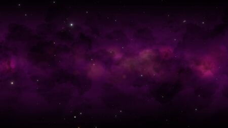 Particles and stars in galaxy, abstract background. Elegant and luxury style 3D illustration for cosmos