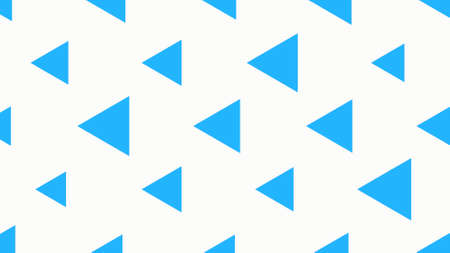 Geometric abstract blue triangles, simple background. Elegant and flat 3d illustration style for business and corporate template 免版税图像