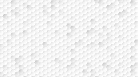 White pixel pattern, abstract background. Elegant and luxury dynamic geometric style for business, 3D illustration