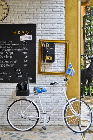 Swedish bicycle. photo