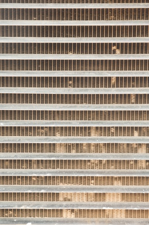 Engine radiator. Stock Photo - 11386208