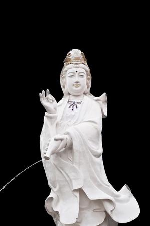 Quan Yin isolated  Stock Photo