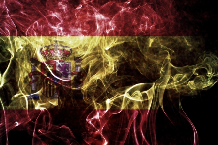 Spain flag  Stock Photo - 13816773