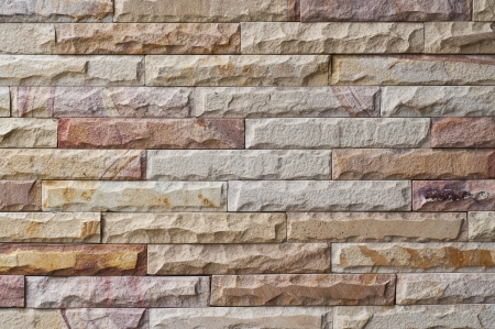 New stone brick wall  Stock Photo - 14209279