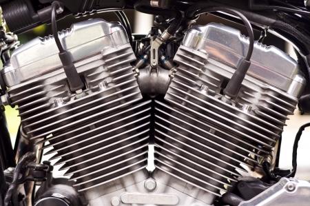 Big bike engine Stock Photo - 15482431