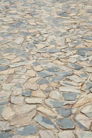 Stone walk way  Stock Photo