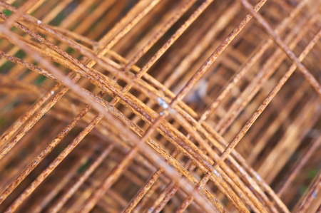 Rusty steel construction framework  Stock Photo - 16655965
