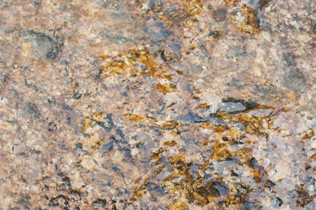 soak: Rock soak with water  Stock Photo