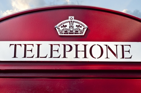 Vintage phone booth Stock Photo - 18448489