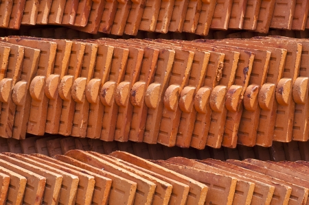Temple roof tile  Stock Photo - 18676588