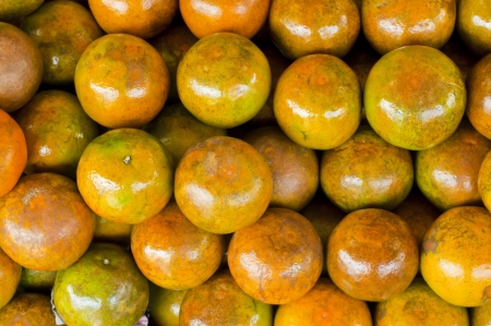 Sweet green orange  Stock Photo - 18676574