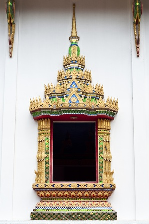 Thai traditional art temple window Stock Photo - 18676567