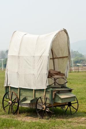 Western style wagon  photo