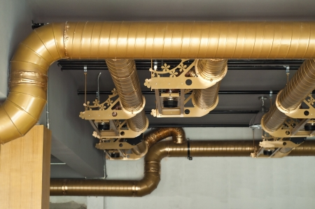 Air condition system pipe Stock Photo - 19241692