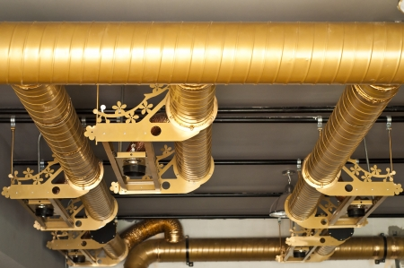 Air condition system pipe Stock Photo - 19241693