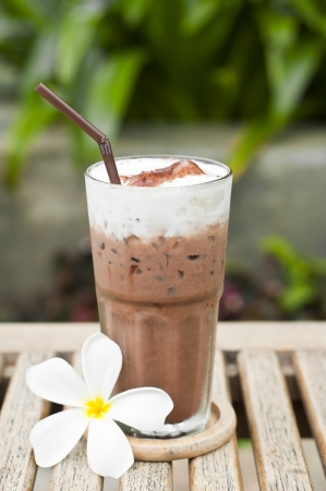 Iced chocolate  photo