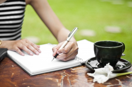 Écrit de la main des femmes
