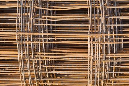 Rusty steel bars  photo