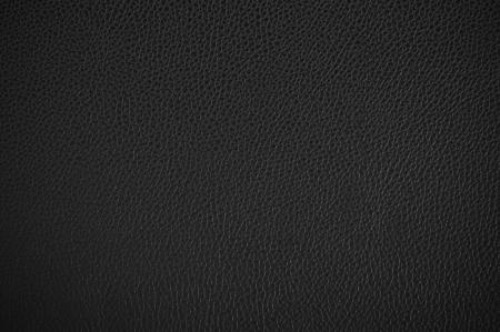 textuur: Zwart leder textuur als achtergrond